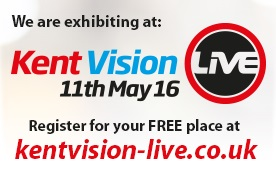 Visit our exhibition stand at Kent Vision Live 2016